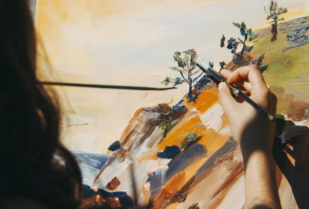 Challenge Yourself: 7 actividades diarias para desarrollar tu creatividad en casa - clases-pintura-dibujo-cdmx-1024x694