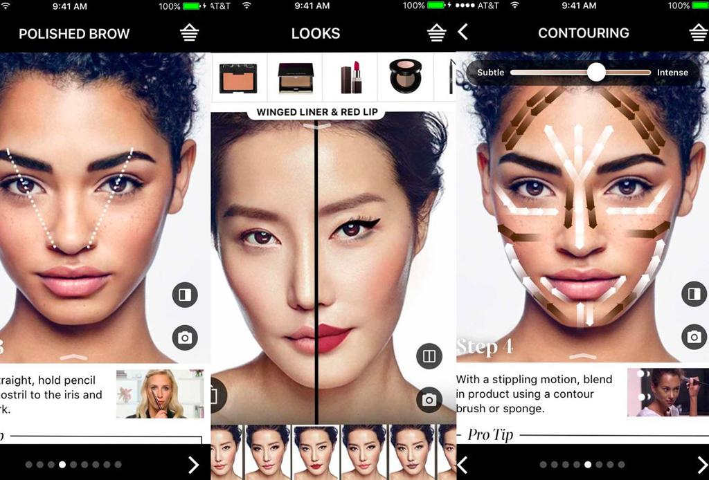 Este espejo virtual te permite probar el maquillaje vía online - lancome-labios-2-1024x694