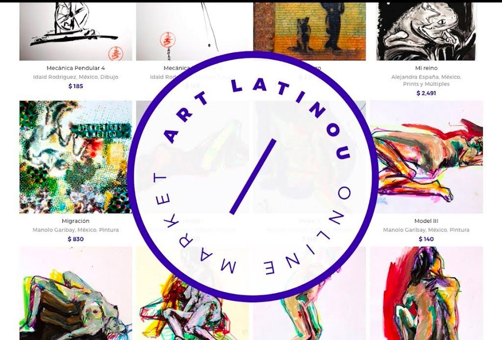 Conoce «Artlatinou», la plataforma de difusión y venta de arte latino