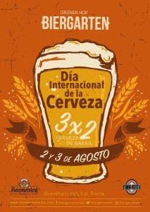 Día de la Cerveza en Biergarten - biergarten_imagencartelddlc