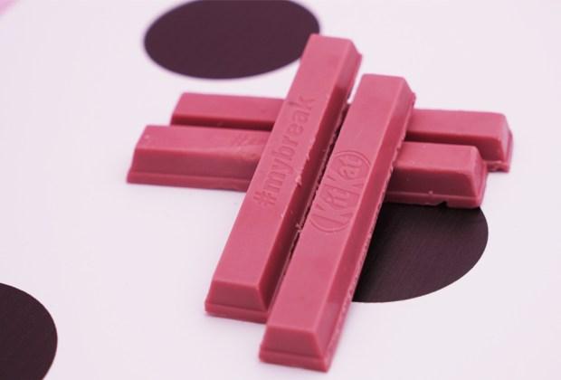 5 chocolates excéntricos que TIENES que probar ¡ya! - chocolate-kit-kat-ruby