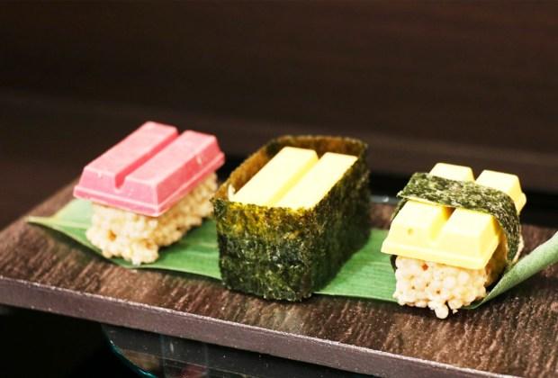 5 chocolates excéntricos que TIENES que probar ¡ya! - kitkat-sushi-chocolate