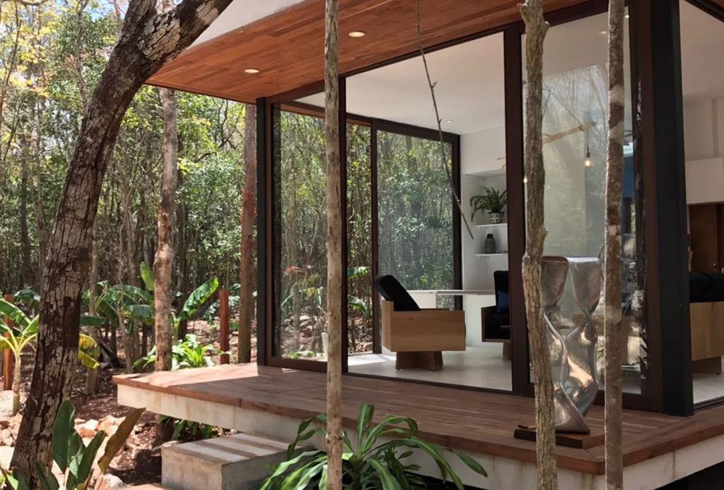 ¿Te gustaría vivir en medio de la selva? Kuyabeh Riviera Maya es el espacio perfecto para hacerlo
