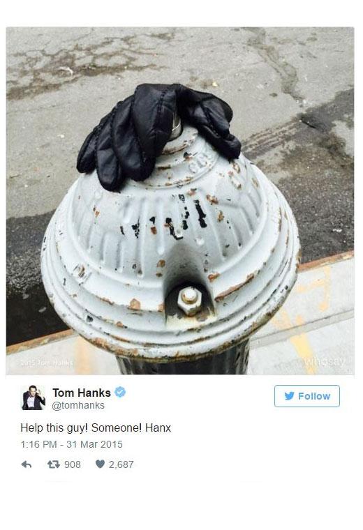 Por qué Tom Hanks es el hombre más amado de Hollywood - tom-hanks-guantes