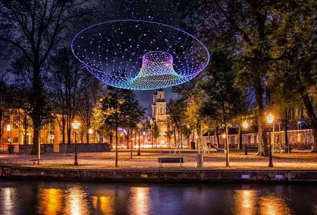 No te pierdas el espéctaculo lumínico del Amsterdam Light Festival 2019