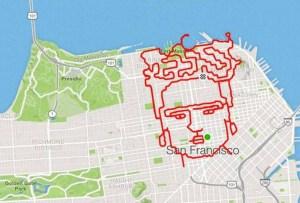 Lenny Maughan: El runner que dibuja con sus rutas en cada carrera