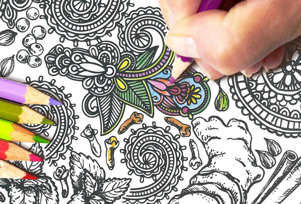 Así es como la caligrafía puede ayudar a reducir el estrés - playlist-colorear-mandalas-1024x694