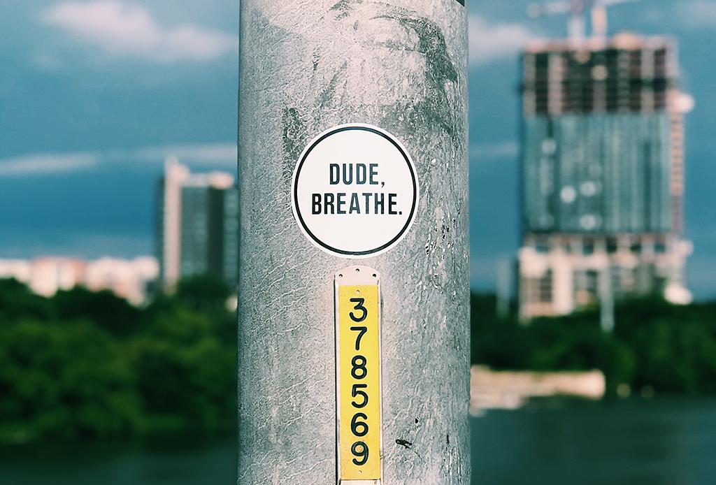 El secreto para llevar una vida más feliz está en respirar