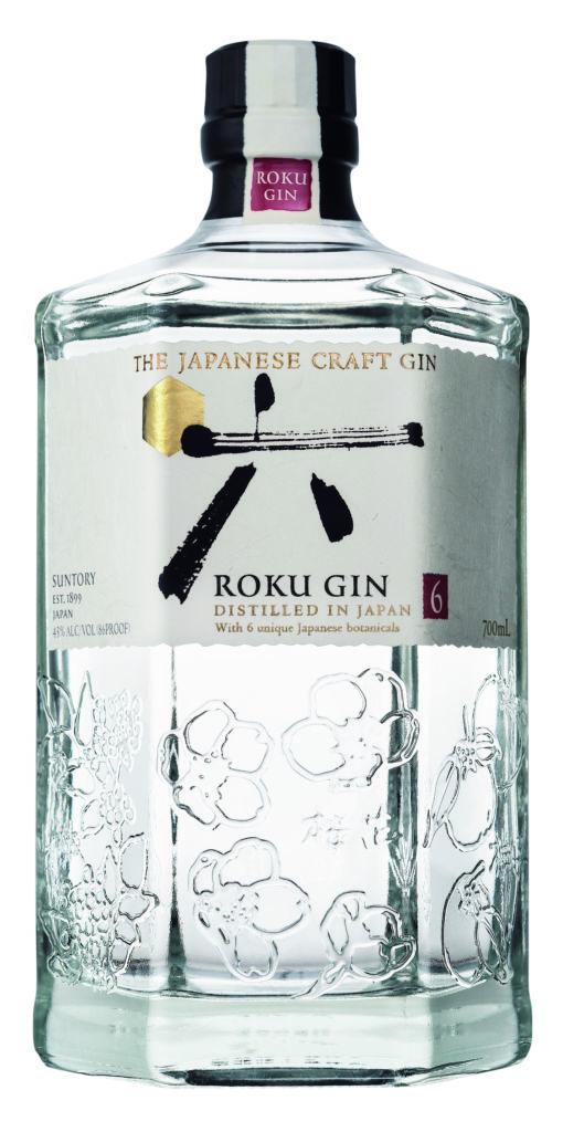 ¿Conoces el gin japonés? Esta receta es perfecta para probarlo - roku-bottle-isolated_700ml