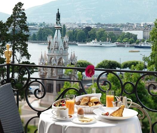 Le Richemond, el histórico y lujoso hotel en Ginebra que debes visitar - le-richemond-desayuno