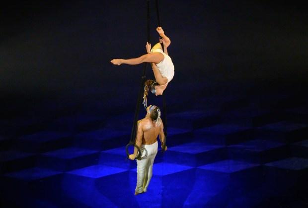 """Razones por las que no te puedes perder la sexta temporada de """"Cirque du Soleil JOYÀ"""" en Vidanta Rivera Maya - aerial-rings-duo-cirque-du-soleil"""