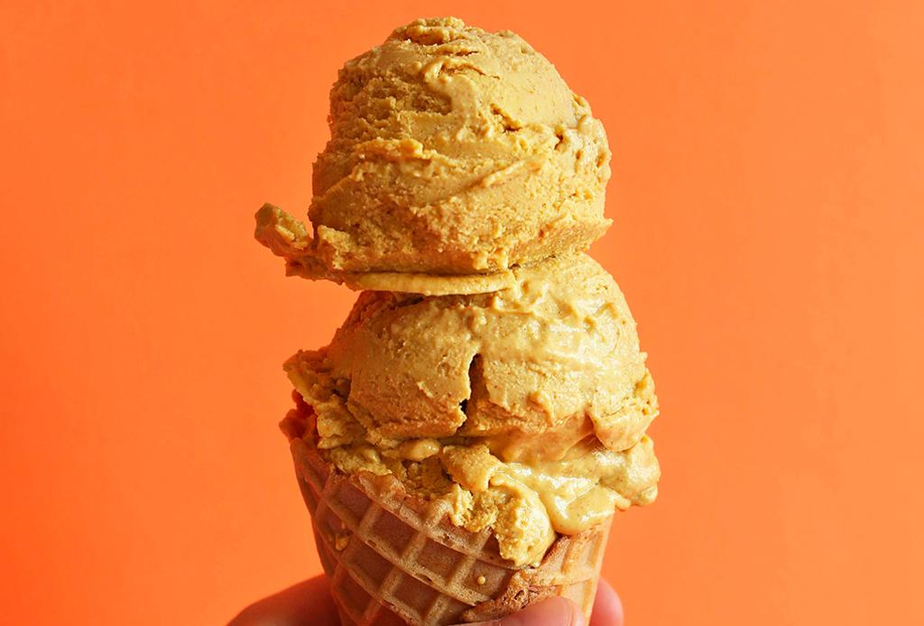 Haz este helado de calabaza en casa en 3 simples pasos
