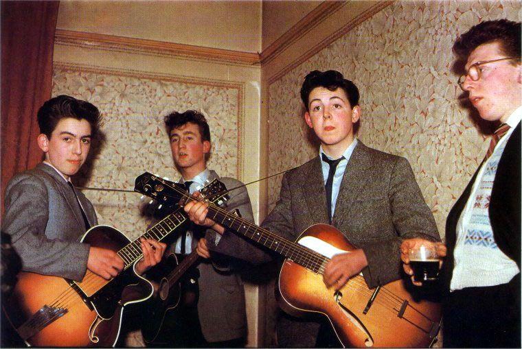 John Lennon a través de los años - quarrymen