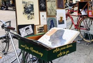 Conoce Sala Nómada, una pequeña galería de arte sobre ruedas en Madrid