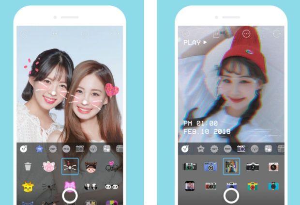 Las apps más populares en Japón - snow-app