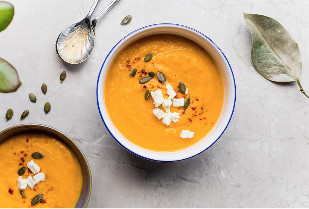 ¡Es temporada de calabaza! Te damos la receta para una deliciosa sopa