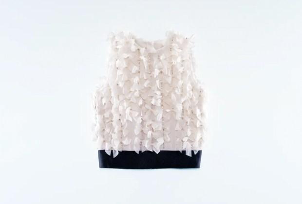 10 piezas de Giambattista Valli x H&M para lucir espectacular en tus fiestas de fin de año - top-chifon-giambattista-valli-hm