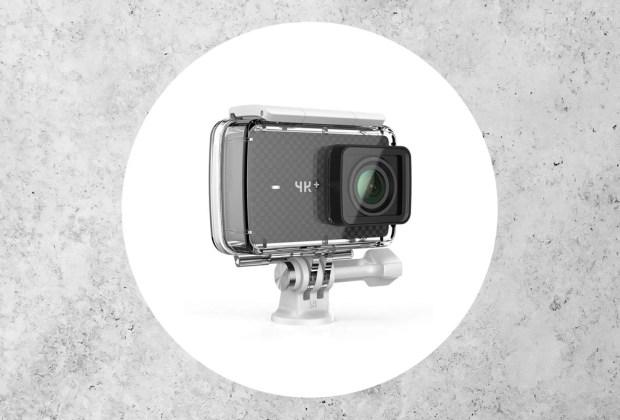 ¿Amante de la adrenalina? Estas cámaras son perfectas para la acción - yi-4k-action-camera