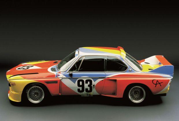 Las mejores colaboraciones de BMW con grandes artistas - bmw-calder