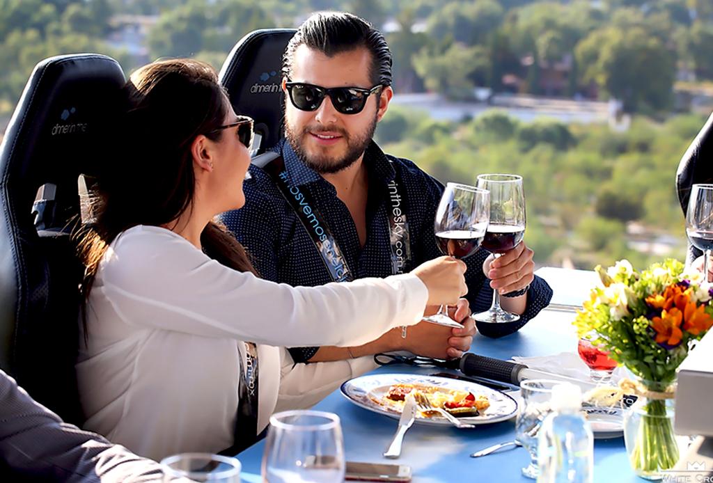 Dinner In the sky Campo Marte - dinner-in-the-sky-cdmx