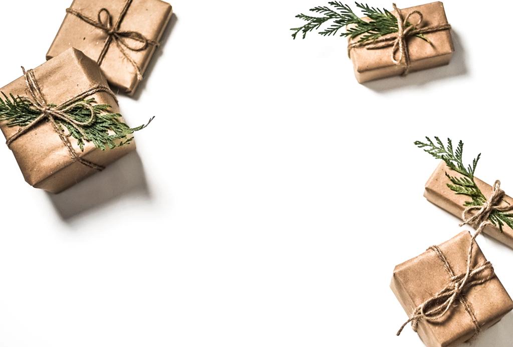 Ideas para envolver tus regalos de forma sustentable