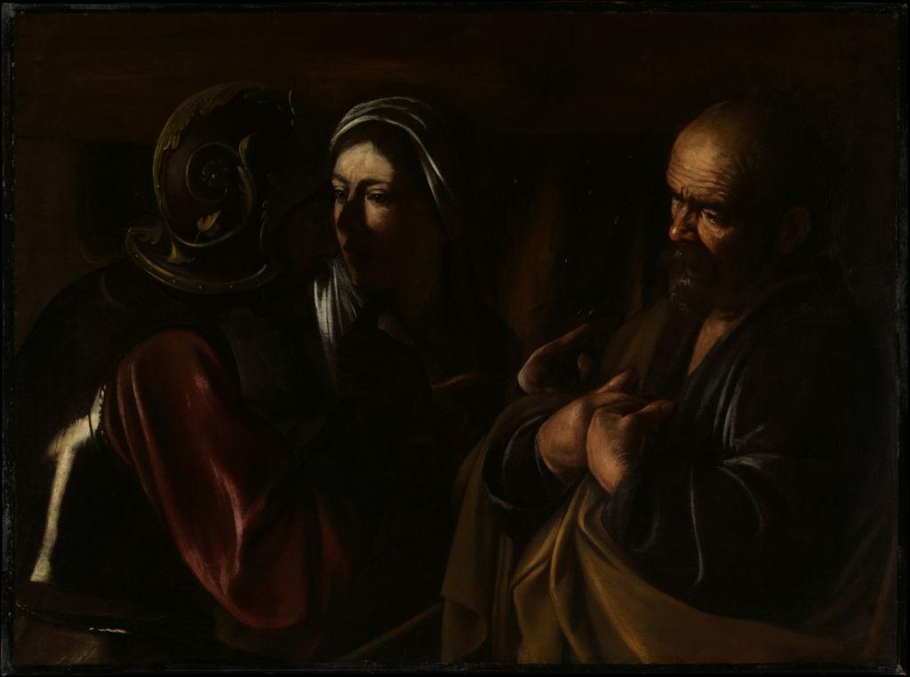 Las pinturas más reconocidas que puedes ver cuando visites el MET de NY - caravaggio-met
