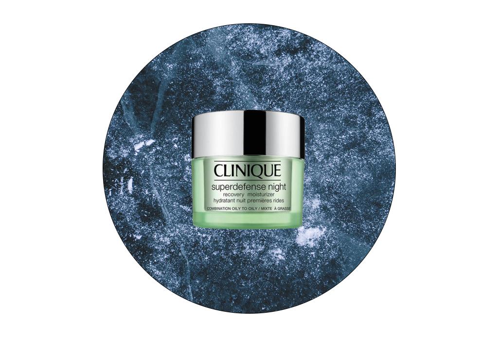 6 cremas y sueros de noche para reparar tu piel - clinique-superdefense-night