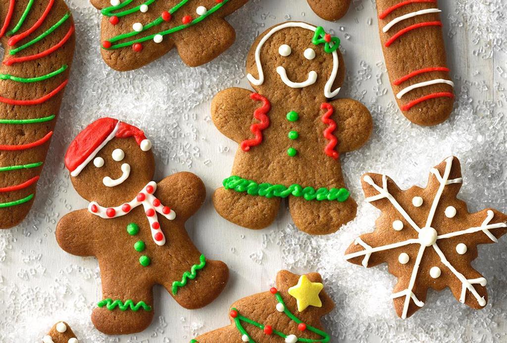 ¡Prepara y decora las tradiciones galletas de jengibre!