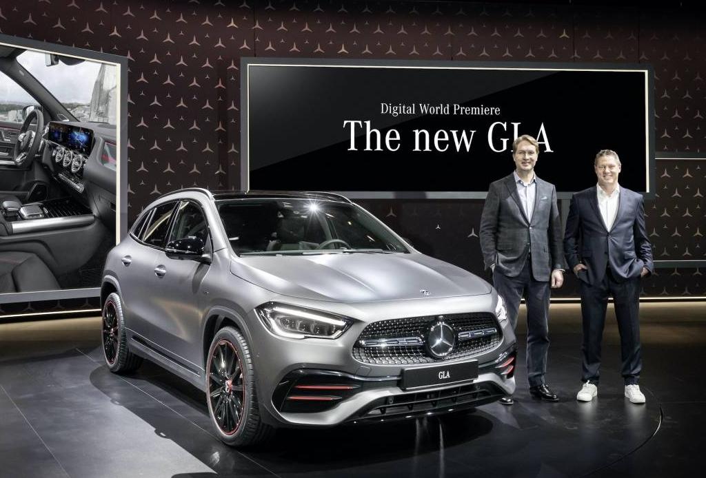 Mercedes-Benz presentó la nueva GLA a través de su plataforma digital ¡no te la pierdas!
