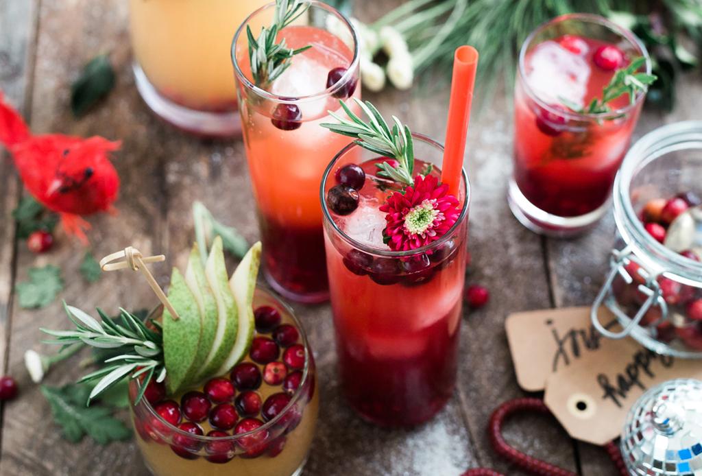 Estos drinks no pueden faltar en tus fiestas de DICIEMBRE