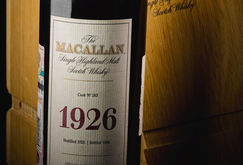 Esta es la botella de whisky más cara del mundo - the-macallan-con-1926-fine-rare-collection-1