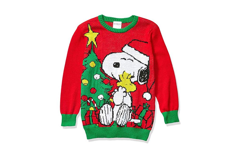 Checa estos ugly sweaters para regalar esta Navidad - ugly-sweater-snoopy-2