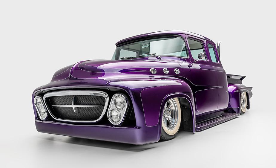 Conoce la colección de autos clásicos del vocalista de Metallica - janes-hetfield-ford-f100