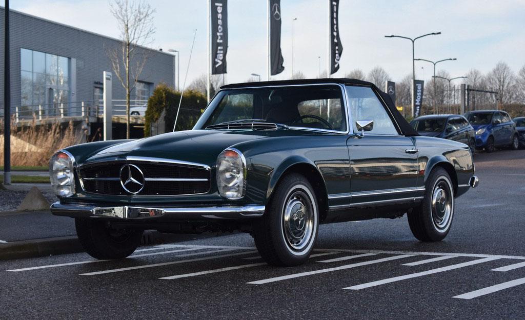 ¿Amante de los autos? Estos son los Mercedes-Benz más hermosos de la historia - marcedes-benz-280-padoga