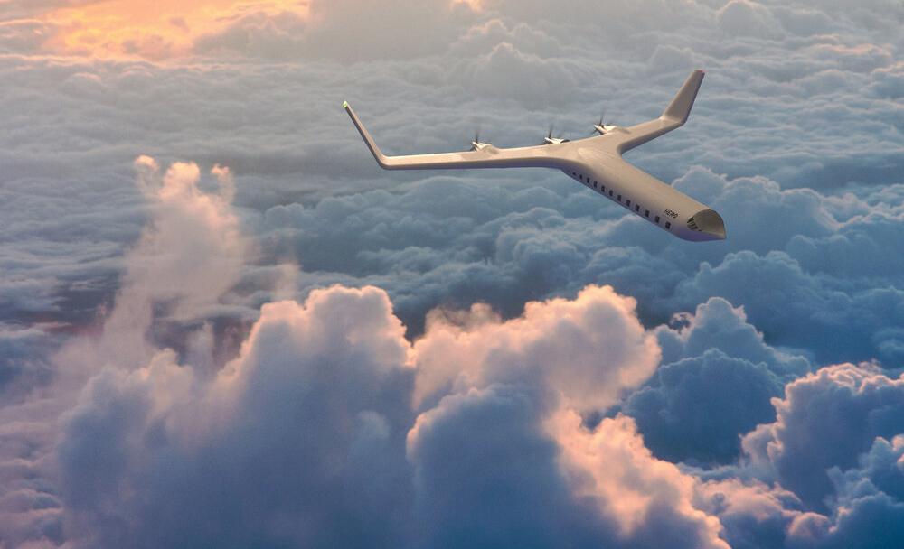 Este es el primer avión que espera volar sin combustible - zero