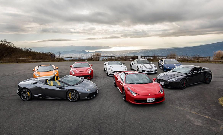 Los países con más autos de lujo en el mundo - japon-autos