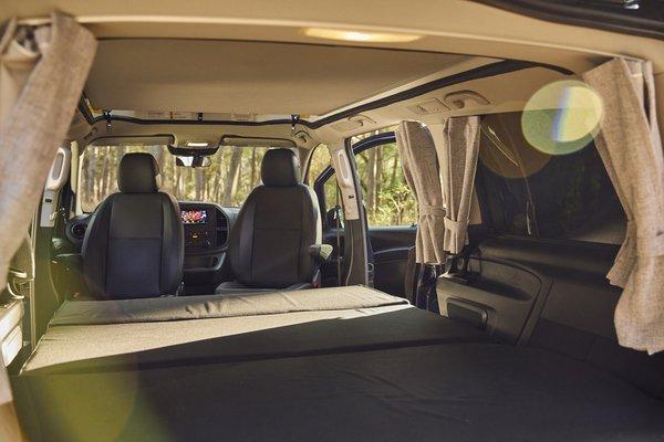 Mercedes-Benz presenta su primera 'caravan' con techo emergente - mercedes-benz-weekender