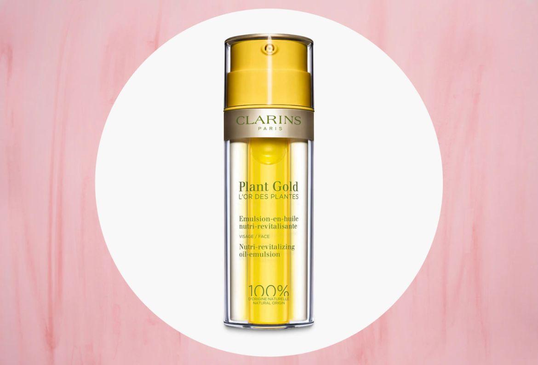 Estos productos le darán una mejor hidratación a tu piel - clarins-plant-gold-nutri-revitalizing-oil-emultion