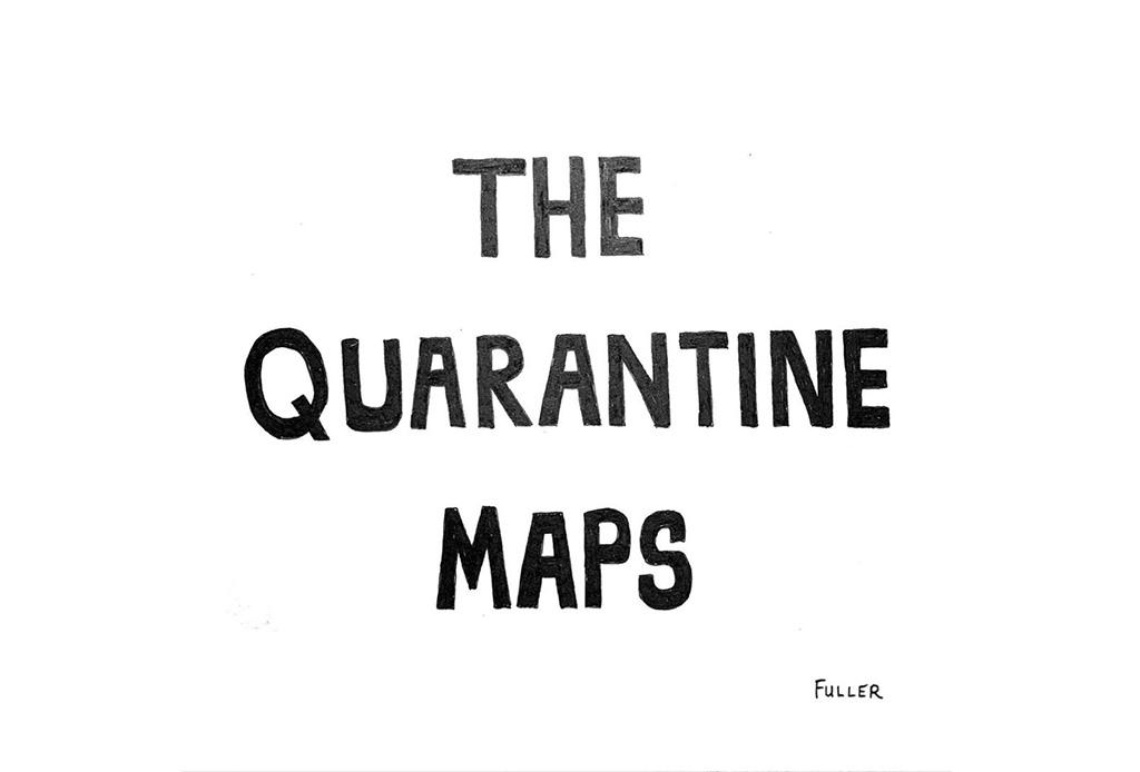 Esto es lo que pasó cuando un artista de mapas estuvo en cuarentena - gareth-fuller-1