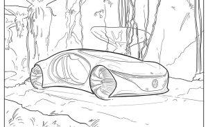 Mercedes-Benz, Audi y Callum tienen libros para colorear de autos que chicos y grandes van a querer ¡ya!