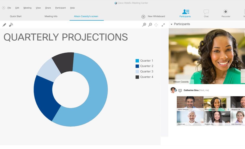 Plataformas en línea para hacer home office de manera eficaz - webex-home-office-plataformas