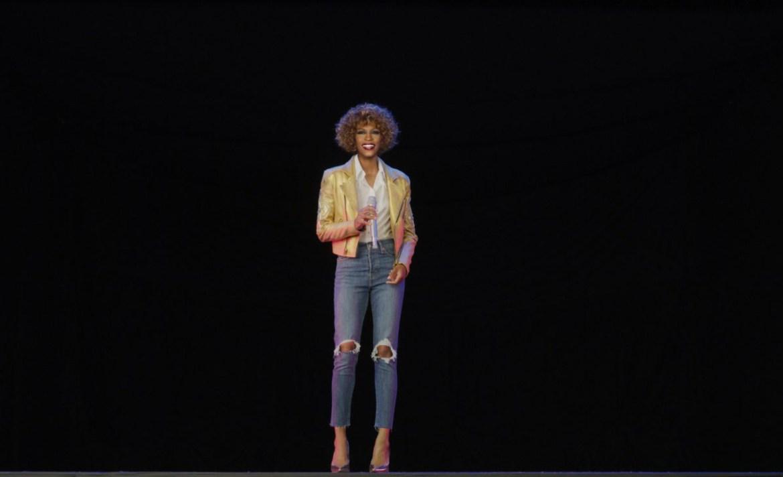 Así es como se vive el concierto del holograma de Whitney Houston - whitney-houston-holograma