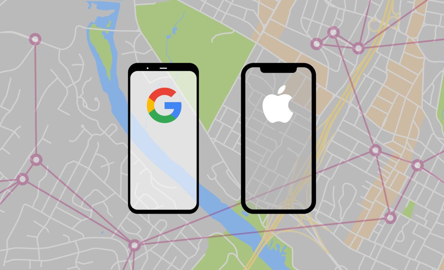 Google y Apple desarrollan tecnología para rastrear el coronavirus