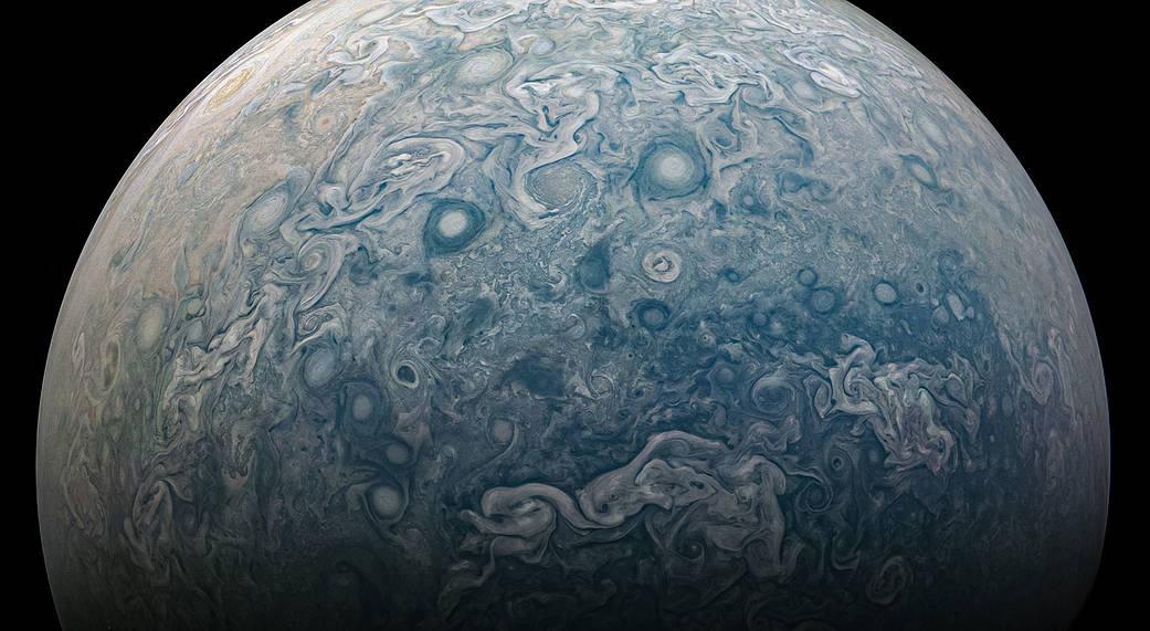 Stay at space: disfruta estas impresionantes fotografías de Júpiter - jupiter-juno-cam-photo-02