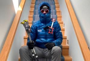 Este hombre cuadraplégico escaló el Everest en su casa