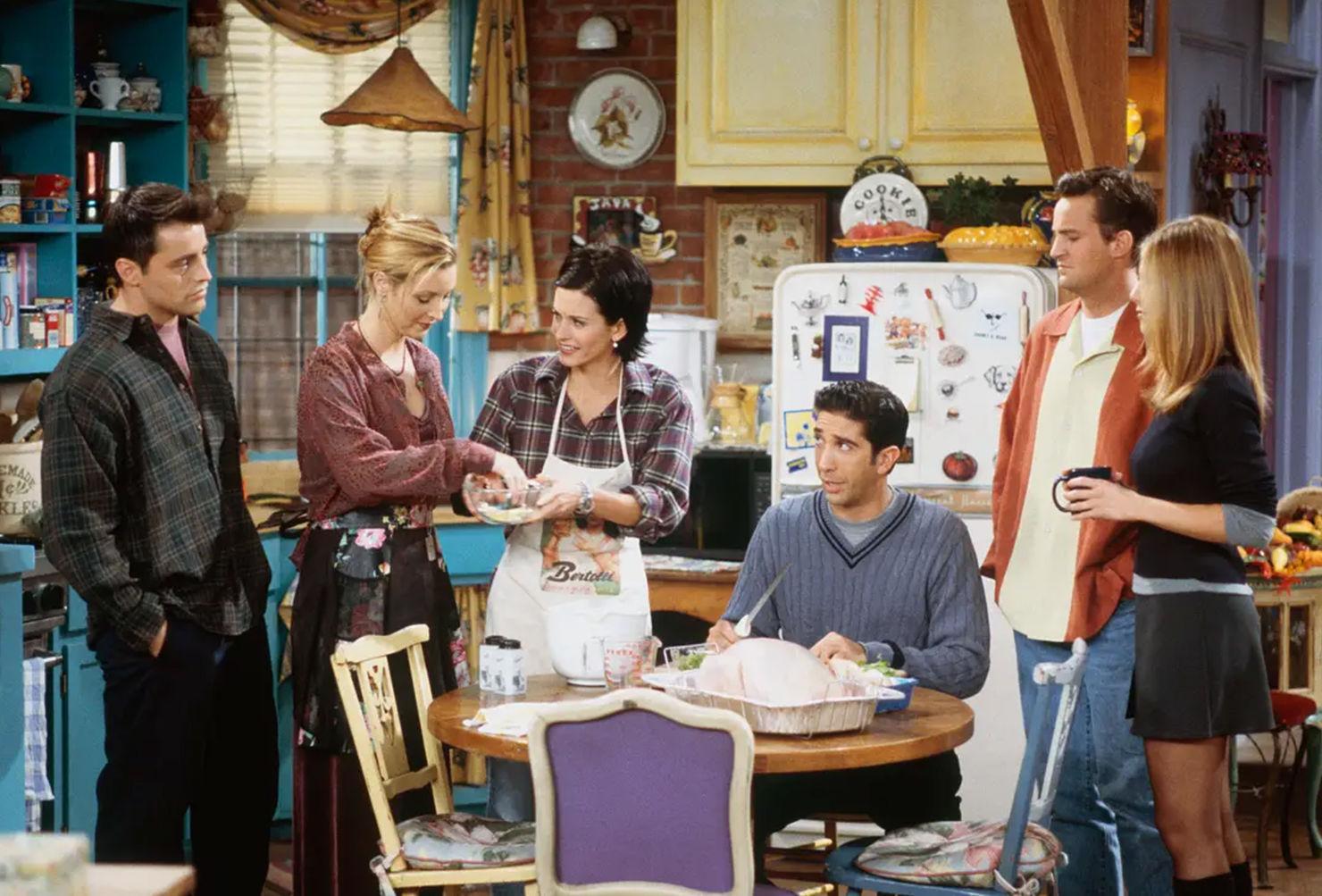 Un libro con las recetas más icónicas de 'Friends' estará disponible ¿quién lo quiere?
