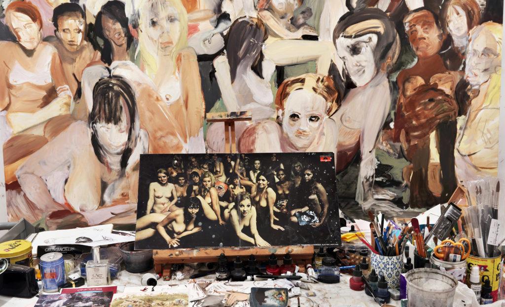 Visita los estudios de los mejores artistas de Nueva York - cecily-brown