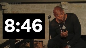 Dave Chappelle lanza 8:46 el primer show de Netflix con distanciamiento social