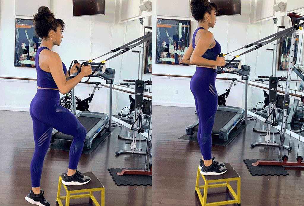 5 ejercicios diferentes para agregar a tu rutina de TRX - ejercicios-trx-2