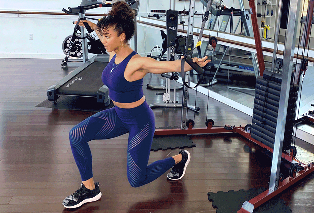 5 ejercicios diferentes para agregar a tu rutina de TRX - ejercicios-trx-3